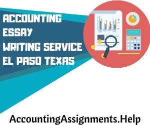 Accounting Essay Writing Service El Paso Texas