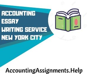 Accounting Essay Writing Service New York City