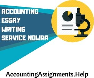 Accounting homework services