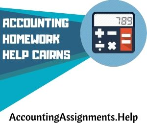 Accounting Homework Help Cairns