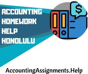 Accounting Homework Help Honolulu