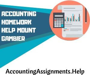 Accounting Homework Help Mount Gambier