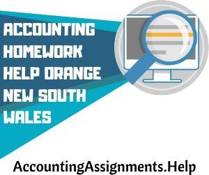 Accounting Homework Help Orange New South Wales