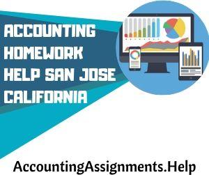 Accounting Homework Help San Jose California