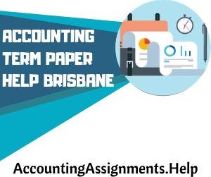 Accounting Term Paper Help Brisbane