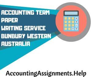 Accounting Term paper writing service Bunbury Western Australia