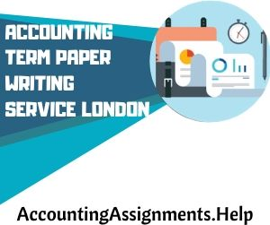 Accounting Term paper writing service London