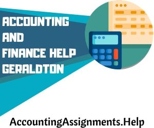 Accounting and Finance Help Geraldton