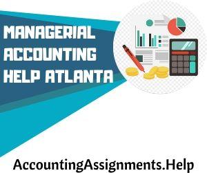 Managerial Accounting Help Atlanta