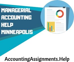 Managerial Accounting Help Minneapolis