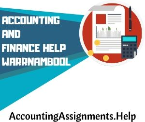 Accounting and finance help Warrnambool