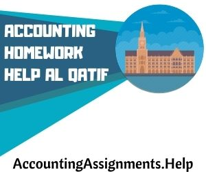 Accounting Homework Help Al Qatif