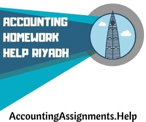 Accounting Homework Help Riyadh